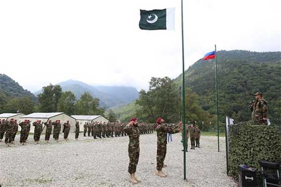 Pak-Russia joint anti-terror exercise begins in Mineralnye Vody