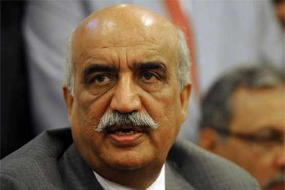 Siraj, Khursheed Shah oppose Imran Khan's snap polls demand