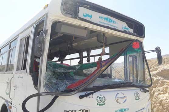 Driver injured as bomb blast hits school bus in Quetta
