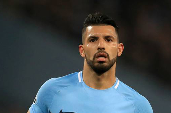 Man City striker Aguero breaks rib in vehicle  crash