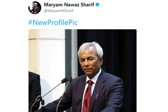 People are divided over Maryam Nawaz's new Twitter profile picture