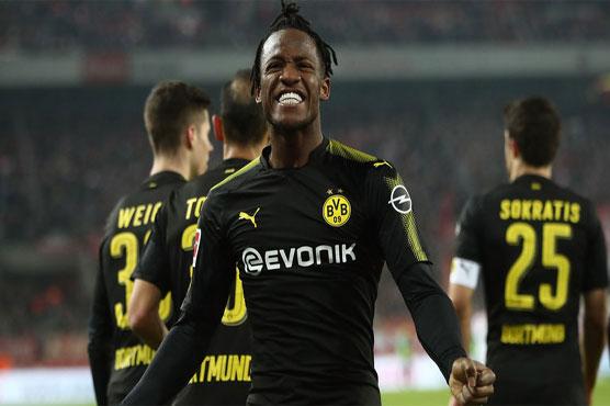 Batshuayi: SpongeBob and Batman helped me sign for Dortmund