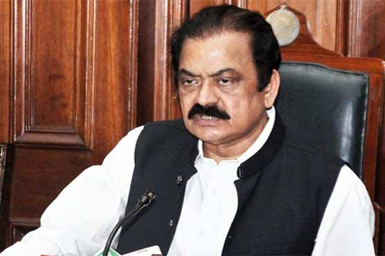 Rana Sanaullah criticises KP Police for delayed arrest in Asma murder case