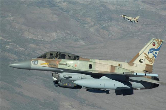 Israeli fighter jet shot down by Syrian anti-aircraft fire