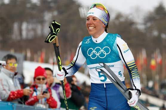 Winter Olympics 2018: Sweden's Kalla takes Games' first gold, Bjoergen makes history