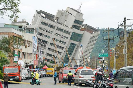 15 confirmed dead in Taiwan natural disaster