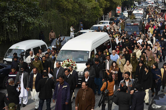 Thousands in Pakistan Attend Funeral of Prominent Rights Activists