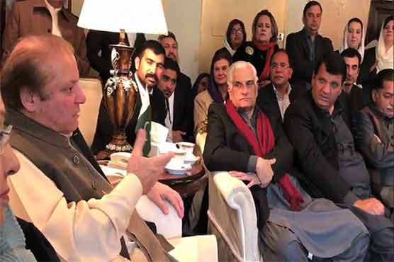 Nawaz Sharif grumbles about language of judges