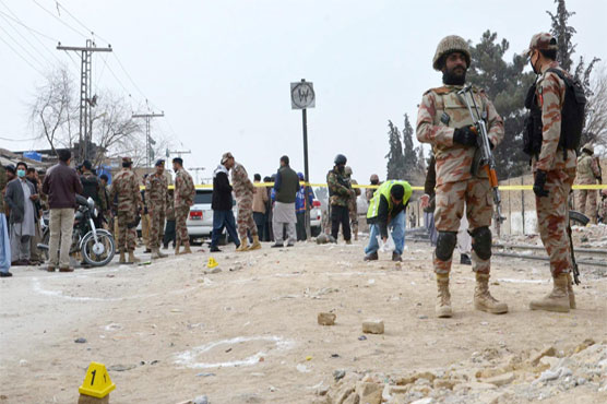 Four security personnel killed in Quetta terrorist attack