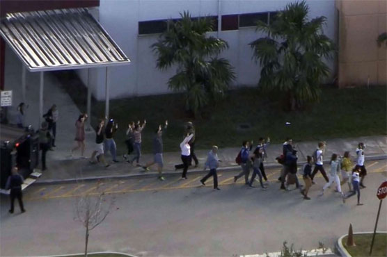 Florida high school mass shooting: 17 killed by suspected ex-student