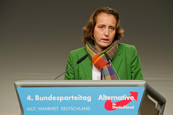 Germany's far-right AfD leader's twitter handle was blocked after her anti Muslim remarks
