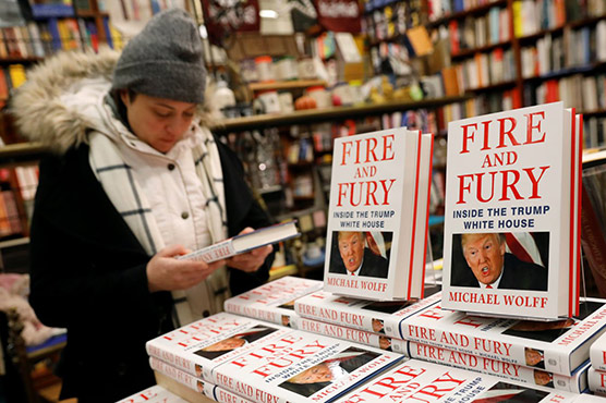 Trump unfit for office, says author; book release advanced