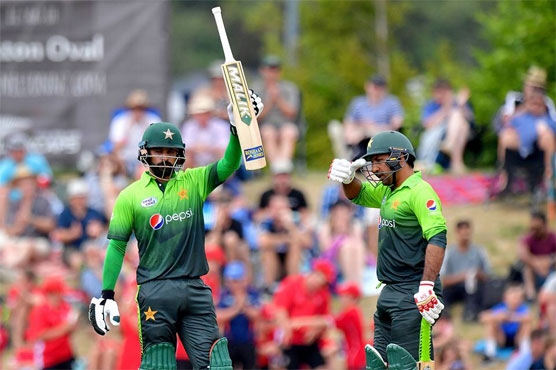 Pakistan made 246 for nine batting first in the second ODI against New Zealand on Tuesday