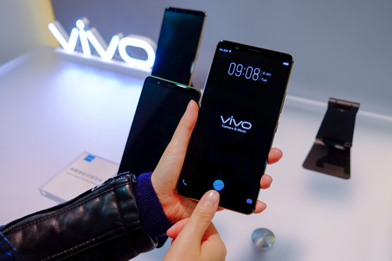 The company recognised it as the first in-display fingerprint scanning smartphone at CES 2018