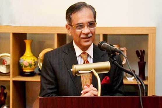 The CJP conducted the hearing at Supreme Court's Karachi Registry