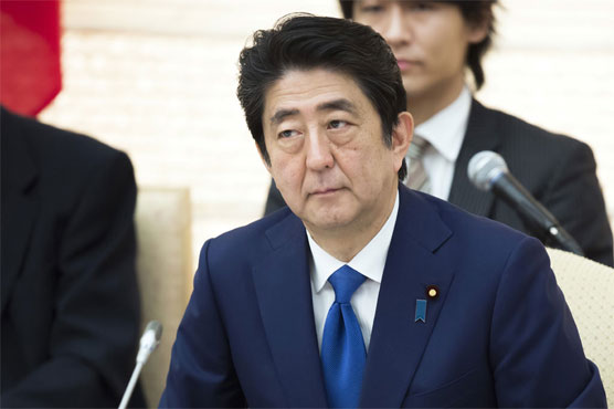 Abe in Latvia Calls for Pressure on North Korea