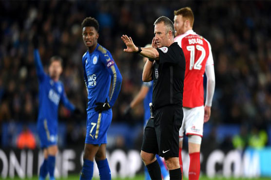 VAR intervenes for FA Cup goal in 1st for English soccer