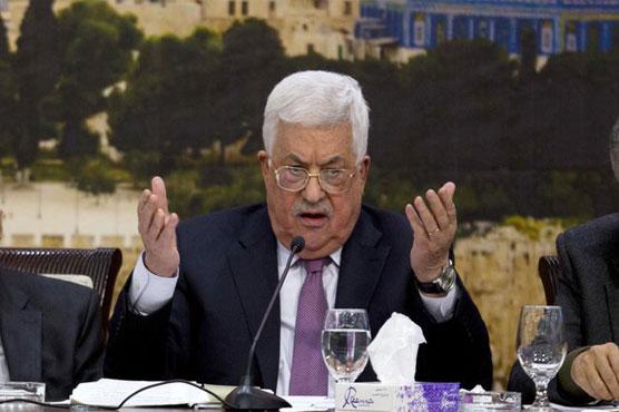 Abbas to ask European Union  to recognize 'Palestine'