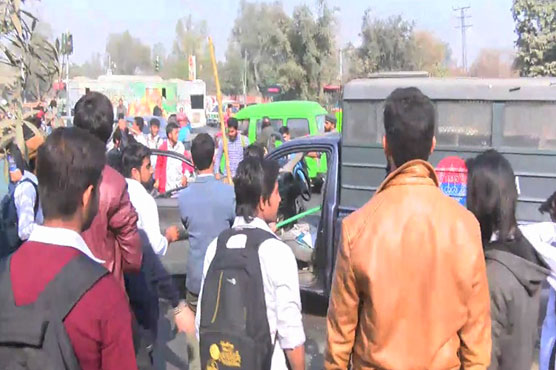 IJT stages sit-in outside VC office following clashes at Punjab University