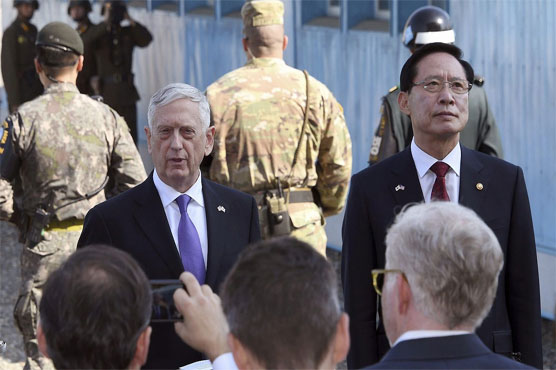 US's Mattis: Diplomacy should impose reason on North Korea's Kim