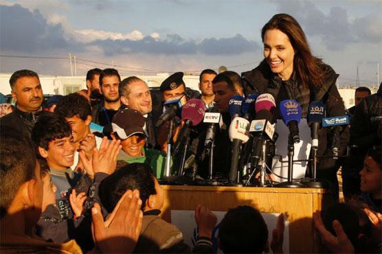 Angelina Jolie tells Al Arabiya long-term solution needed for Syrian refugees