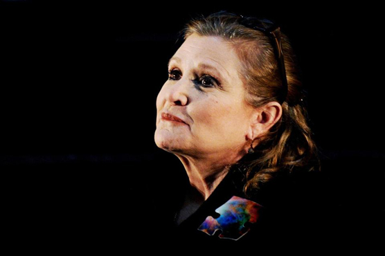 Carrie Fisher posthumously wins first Grammy award