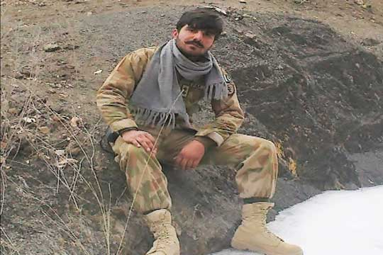 Martyr lieutenant Fahad laid to rest
