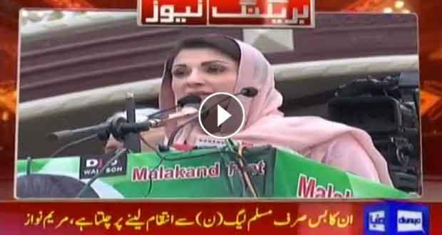 Maryam Nawaz lashes out at PTI govt