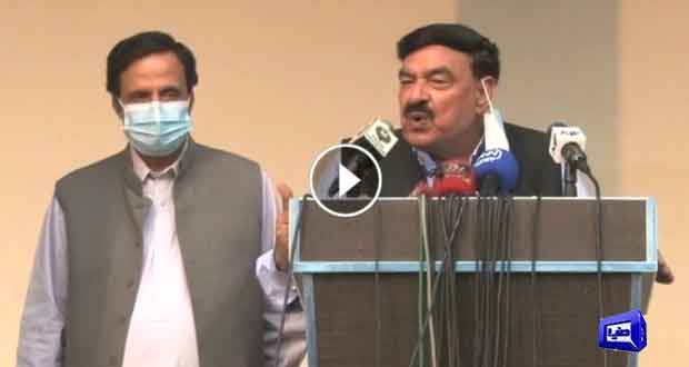 Sheikh Rasheed makes prediction about oppositions defeat in GB elections