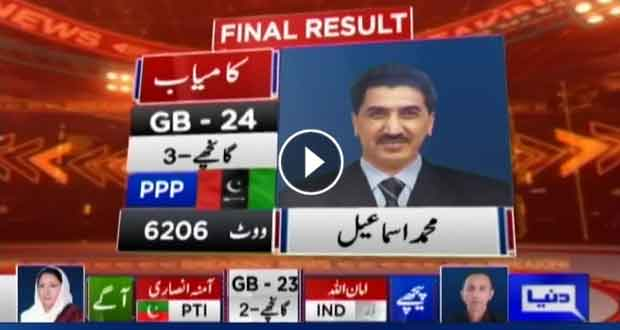PPP grabs GB-24 Ghanche-3 seat: Unofficial result