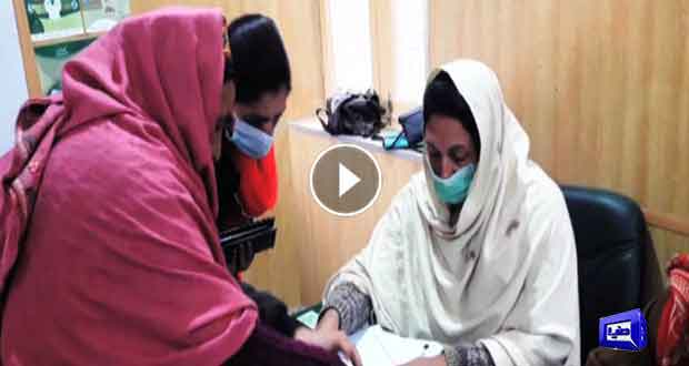 Voters move to polling stations in tough weather conditions in Shigar