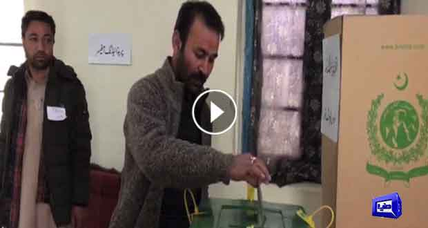Voter turnout remains better despite of weather conditions in Skardu