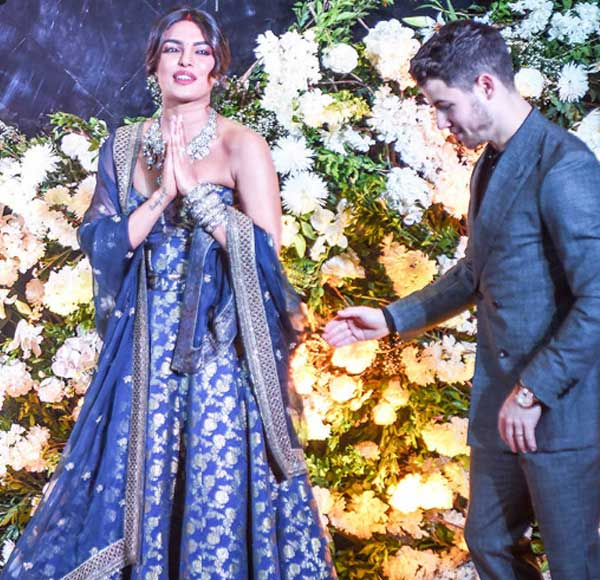Nick Jonas and Priyanka Chopra Extended Their Wedding Celebration With a Reception in Mumbai