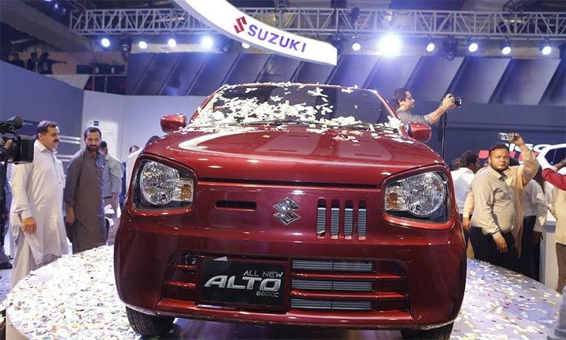 Pak Suzuki Motor Company launches Alto 660cc - Technology - Dunya News