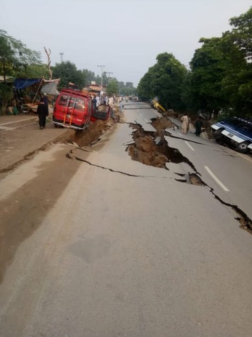 Image result for Earthquake 5 killed ,100 injured in Mirpur Azad Kashmir