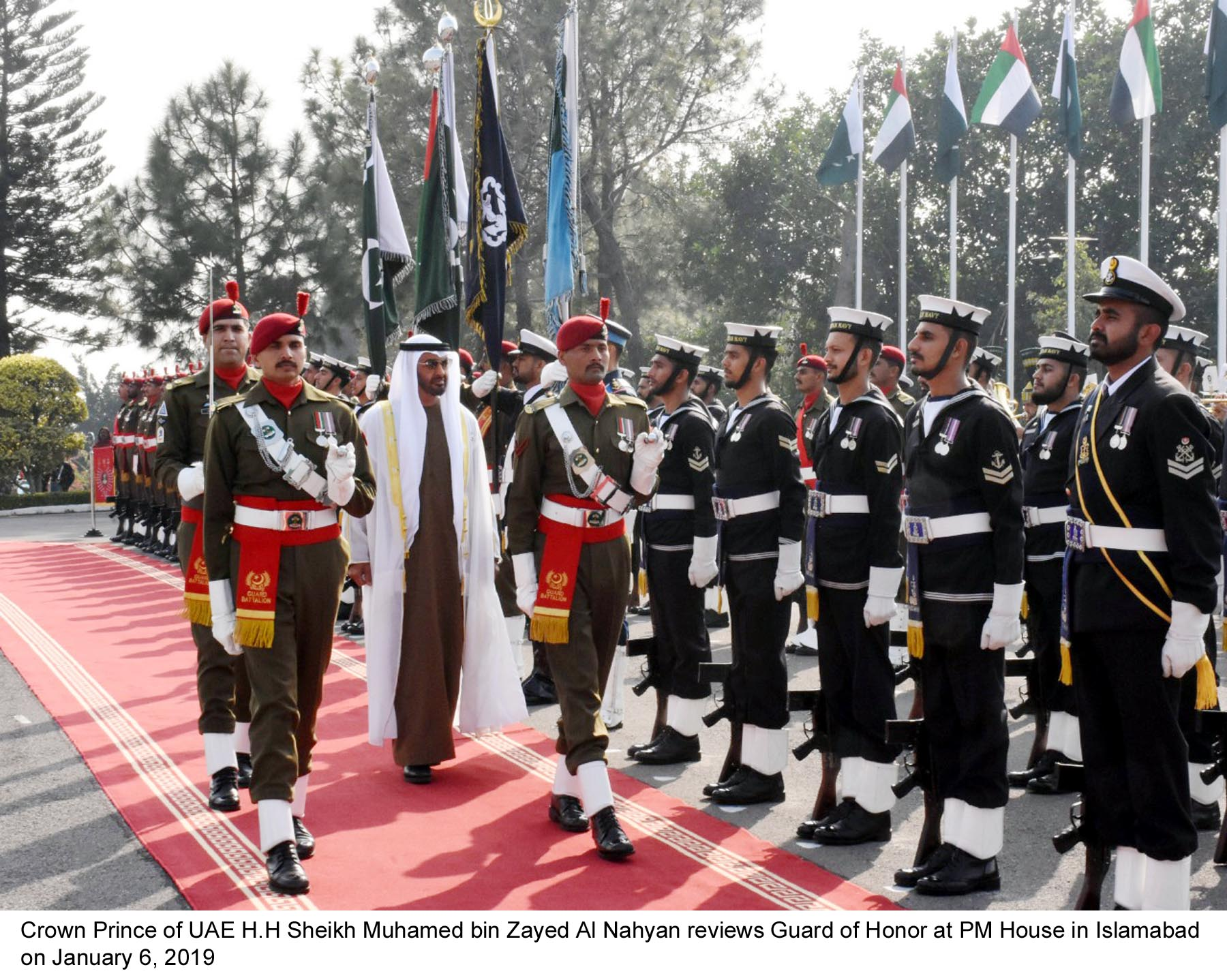 Sheikh Mohamed bin Zayed visits Islamabad as Pakistan seeks a helping hand