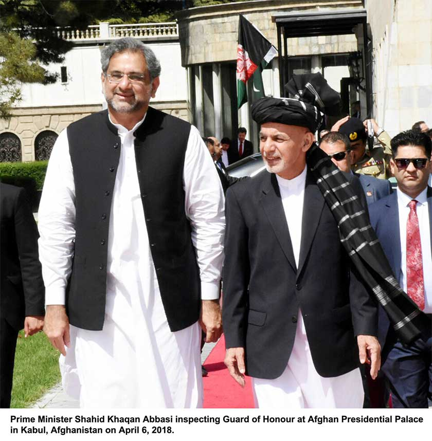 PM in Afghanistan to discuss security with Ghani