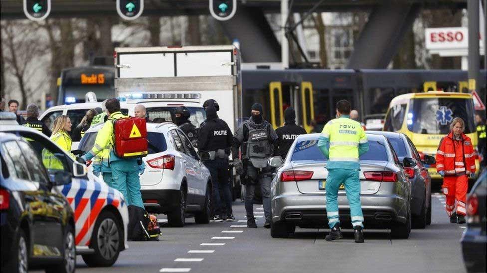 Terror2 - دہشتگردی کی لہر یورپ پہنچ گئی، ہالینڈ میں ٹرام پر فائرنگ،3 افراد