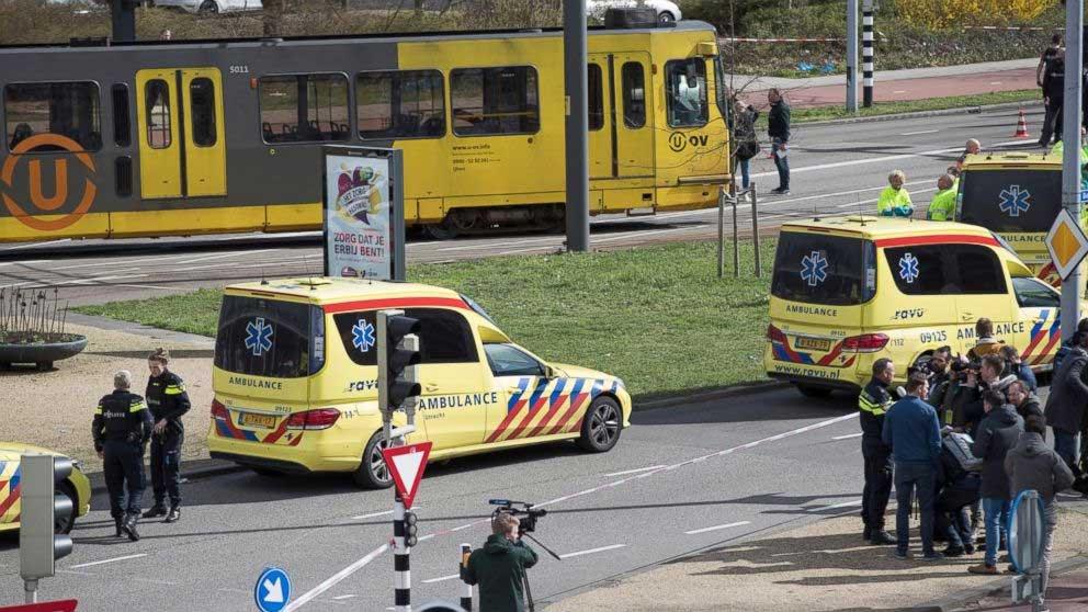 Terror3 - دہشتگردی کی لہر یورپ پہنچ گئی، ہالینڈ میں ٹرام پر فائرنگ،3 افراد