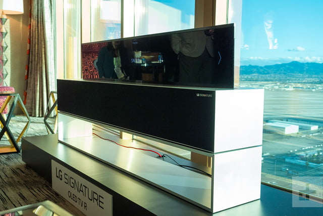 LG's rollable OLED marks a potential source of new development