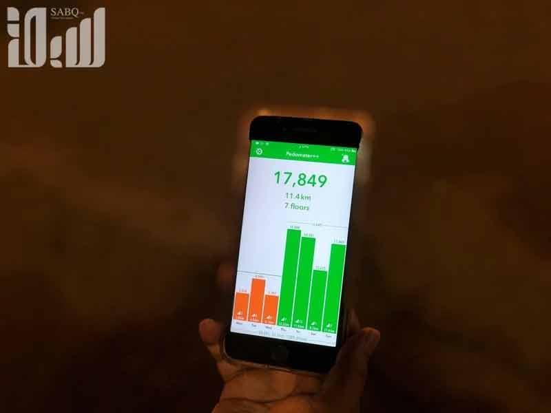 tech 2 - سمارٹ فون ٹیکنالوجی، حجاج کے موبائل میں چلنے والے قدموں کا حساب ل