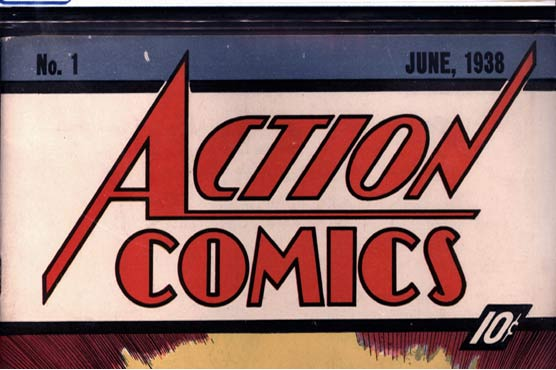 First Superman comic sells for record $2.2m