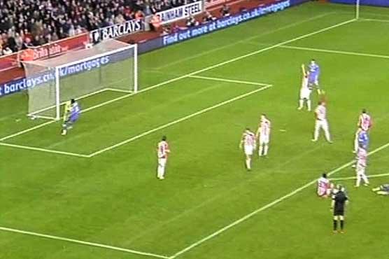 Stoke dents Spurs' title tilt in Premier League