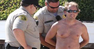 Man arrested third time for stalking Hilton