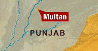 Blatant arms display at Multan peace rally