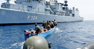 Somali pirates again attempted to hijack ship