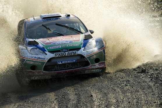Latvala wins Wales Rally as Loeb celebrates title