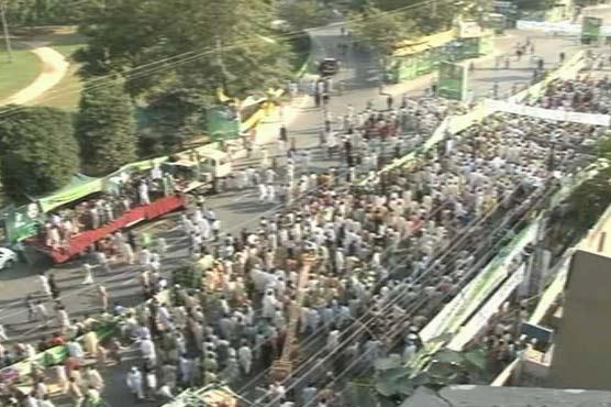Lahore: PML-N launches anti-Zardari show