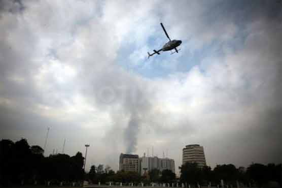 Malik's helicopter makes emergency landing