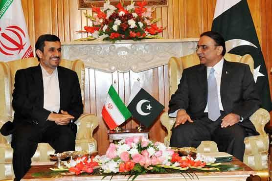 Nejad, Zardari hold talks to strengthen economic ties
